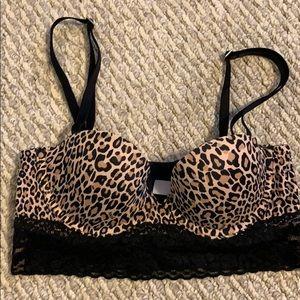 Victoria secret cheetah bra